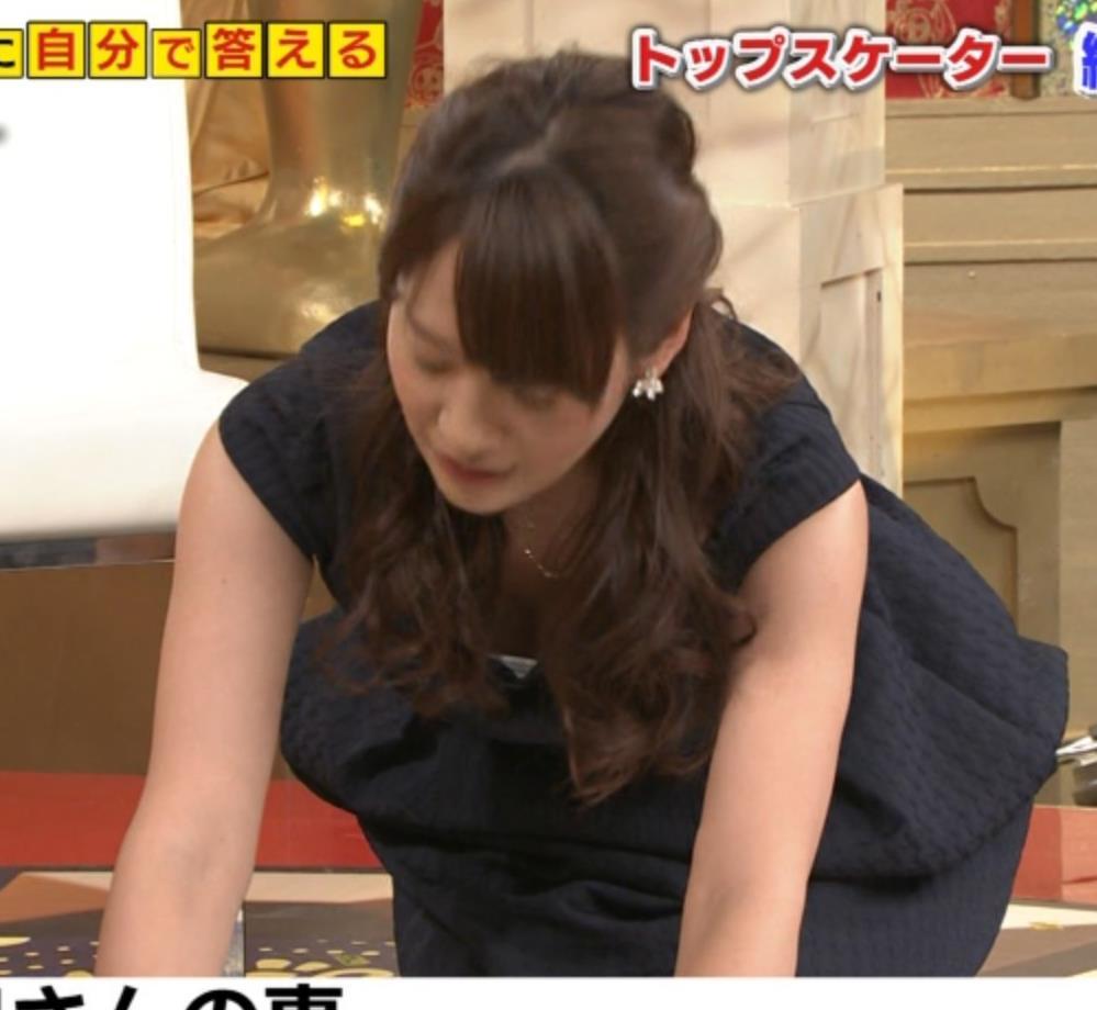 吉田明世 胸ちらキャプ・エロ画像3