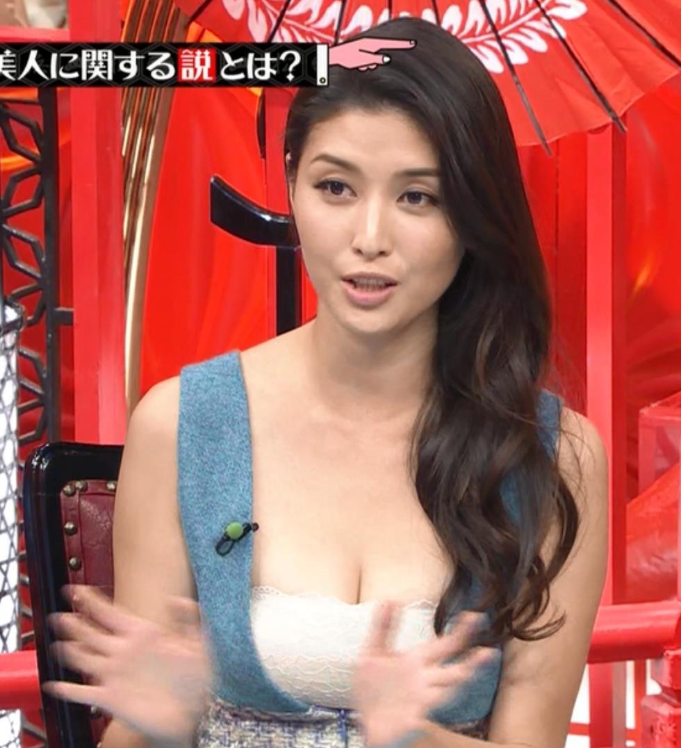 橋本マナミ おっぱいキャプ・エロ画像7