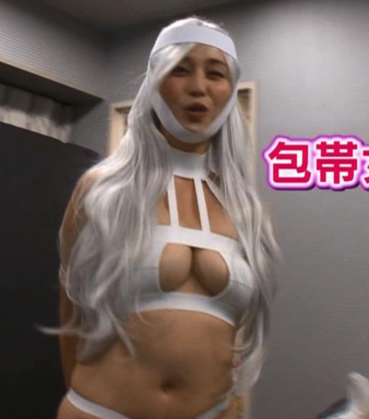 橋本マナミ コスプレキャプ・エロ画像2