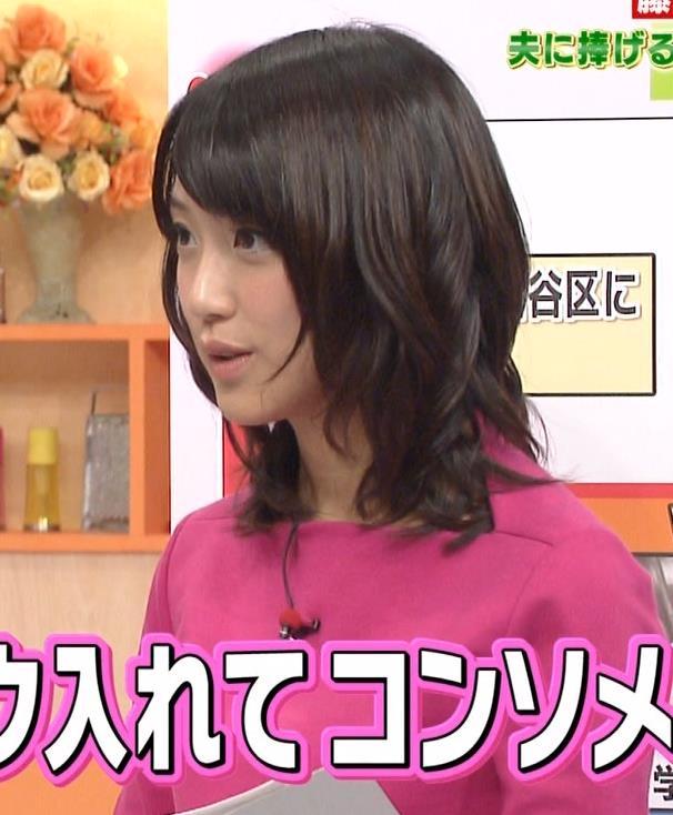 竹内由恵 横乳キャプ・エロ画像4