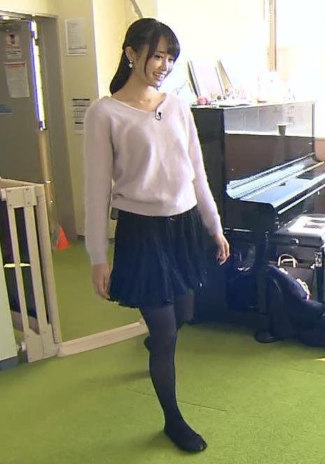 大澤亜季子 ミニスカートキャプ・エロ画像2
