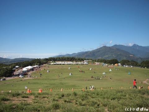 鹿野高台で熱気球9