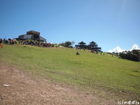 鹿野高台で熱気球11