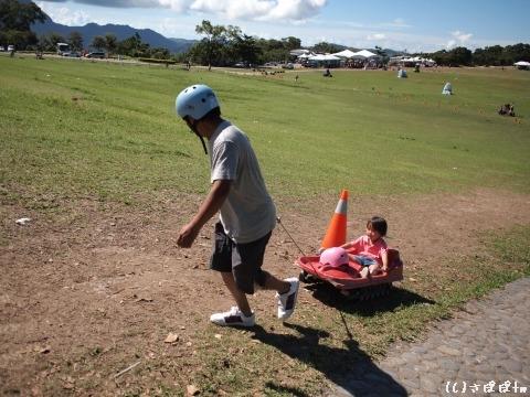 鹿野高台で熱気球13