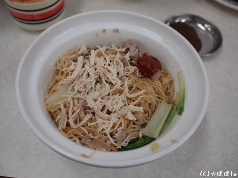 阿財鶏絲麺7
