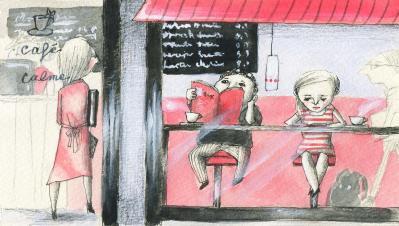 ひとこま カフェ