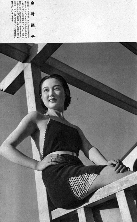 桑野通子1937