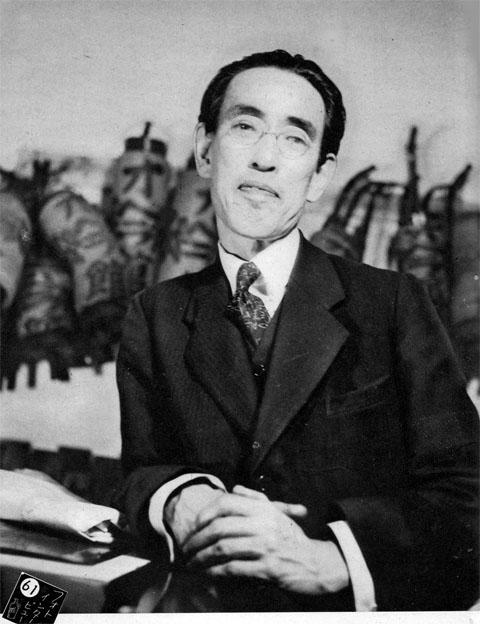 永井荷風1938aug