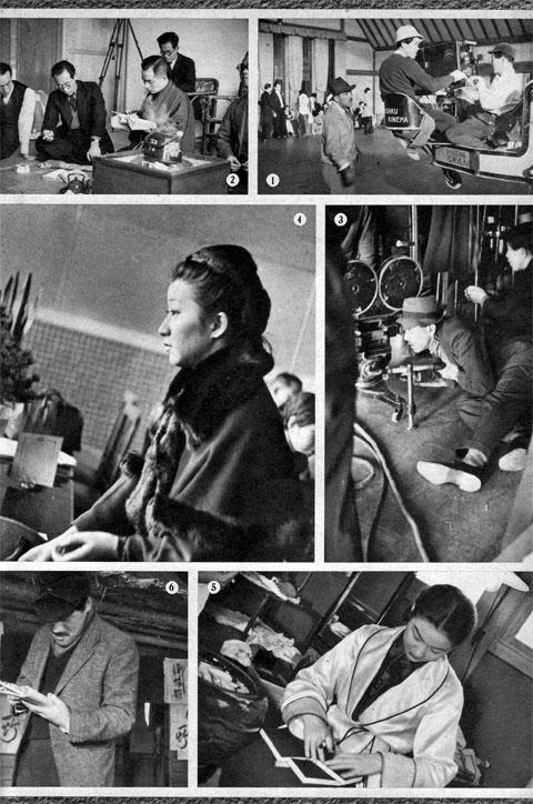ライカに描く撮影所スナップ1937