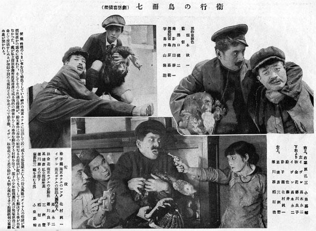 映画「七面鳥の行衛」1924