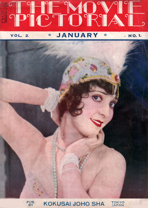 the movie pictorial 1929 jan Madge Bellamy