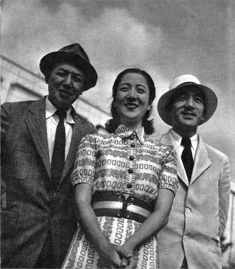 雑誌記事「内田吐夢・轟夕起子・小津安二郎」(1939)