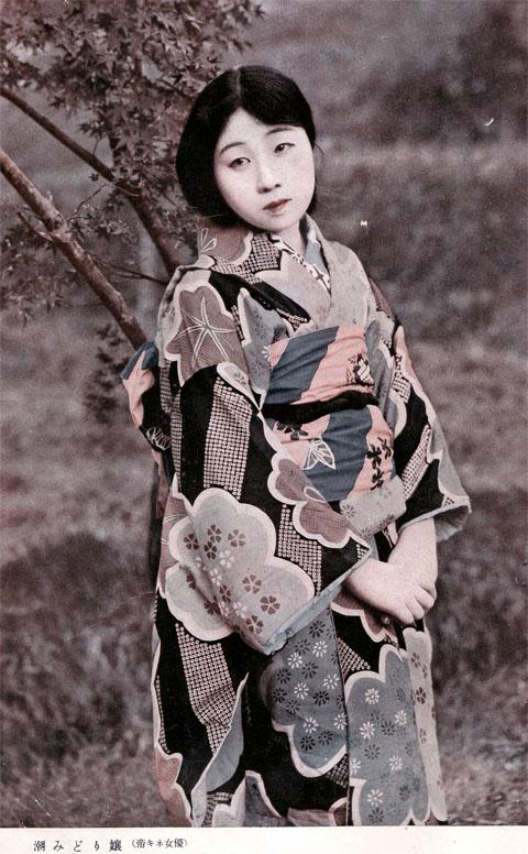 潮みどり嬢1924