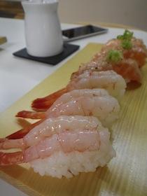 甘エビ&炙り鮭トロ
