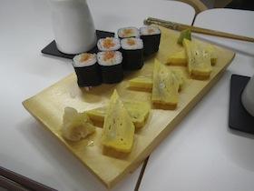 卵焼き&鮭のネギトロ巻き
