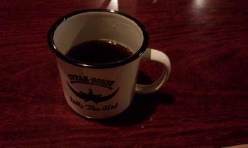 ビリー・ザ・キッド 東陽町店 ステーキ後に出てくるコーヒー