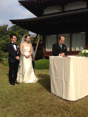 人前結婚式署名