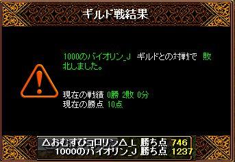 RedStone 13.08.05 結果