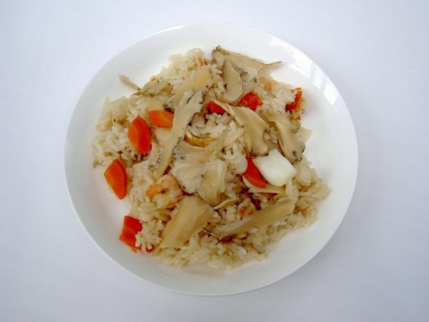 マイタケ調理の一例