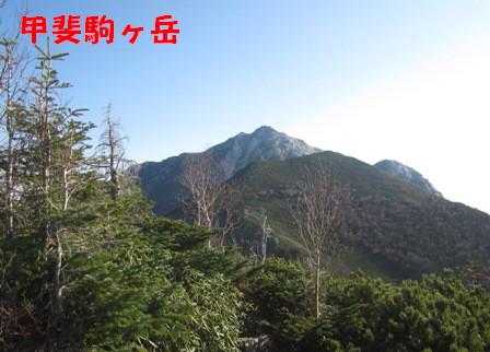 甲斐駒ヶ岳登山 (4)