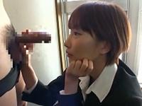 春川まお 若手社員のチンポを美味しそうにしゃぶって精飲までしちゃうドエロな秘書!