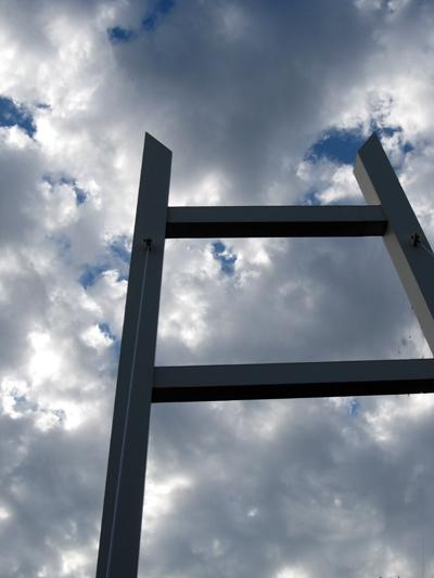 雲にかかる橋