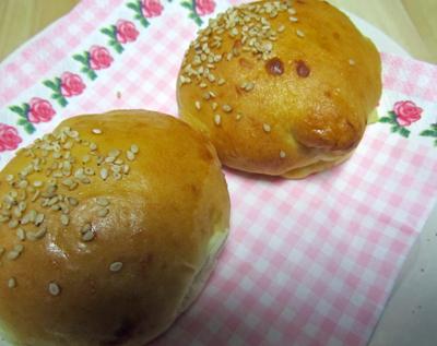 母が作ったパン