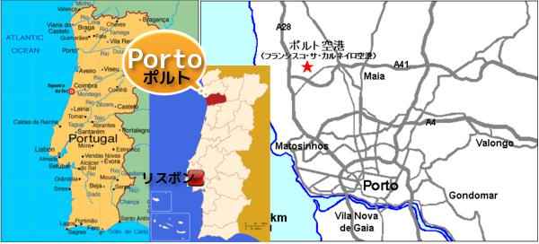 ポルト 地図 W600