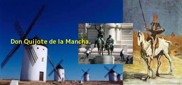 Don Quijote de la Mancha B W600