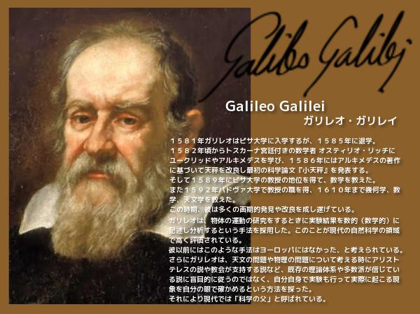 ガリレオ・ガリレイ 3 W600