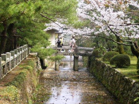 御殿川・参道の石橋_H17.4.10撮影