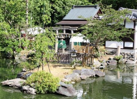 京都御苑・厳島神社_H25.06.15撮影