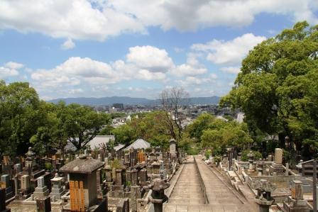 文殊塔から京都市街_H25.06.16撮影