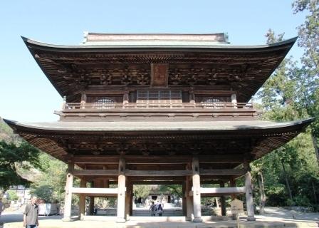 円覚寺三門総門側から_H25.09.29撮影