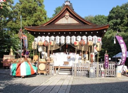 粟田神社拝殿_H25.10.12撮影