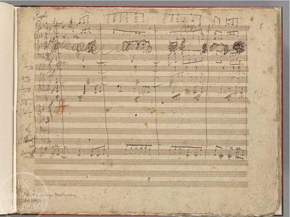 ベートーヴェン自筆譜