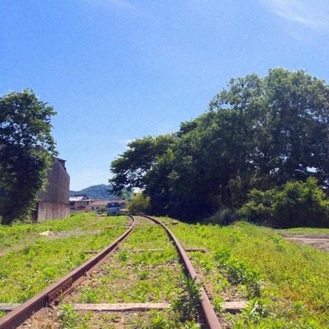 廃線 スタンドバイミー 線路 画像
