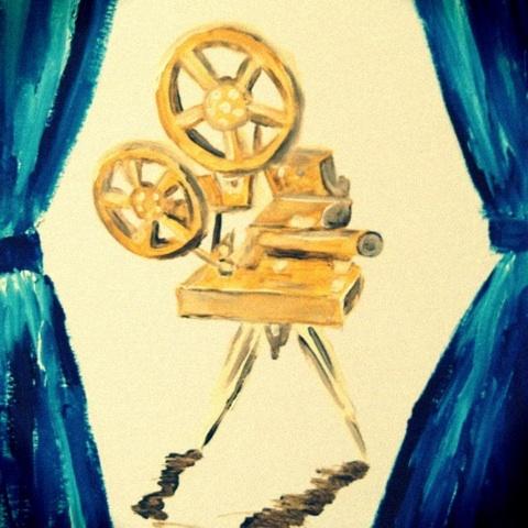 映写機 フィルム 映画