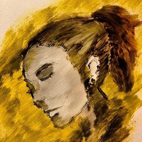 旅人 油彩 イラスト アメブロ 画像