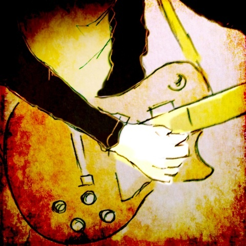 ギター ロック イラスト 画像