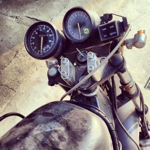 エレクトリックサーカス バイク GT400 画像