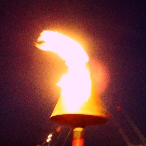 灯火 キャンドル 炎 画像