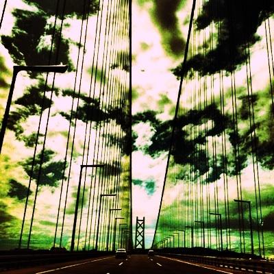 明石海峡大橋 海峡 画像