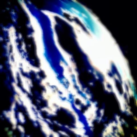 地球 星 大気圏外 画像