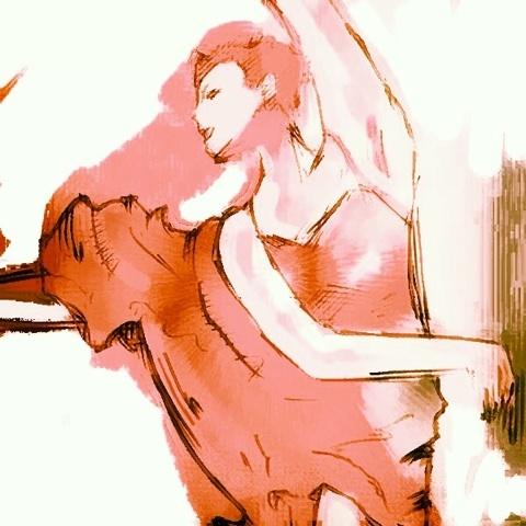 フラメンコ バレリーナ イラスト 画像