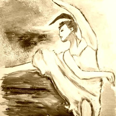 プリマ バレエ イラスト 画像