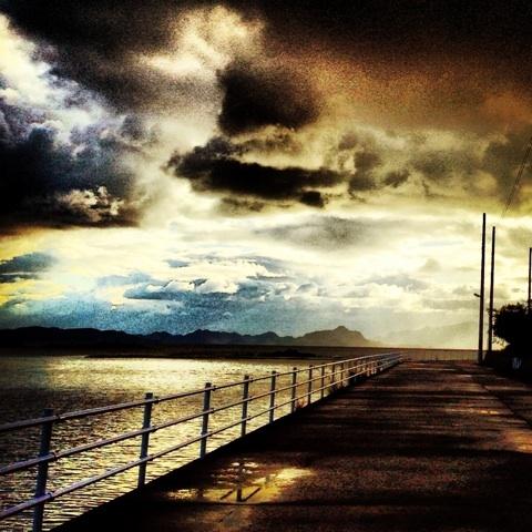 海岸線 instagrum 加工写真 画像