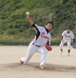 P4140018クロウズ先発井元投手