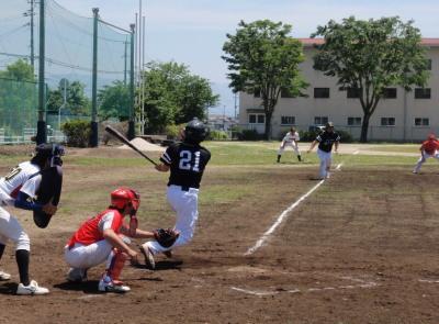 P51201166回裏1死満塁から7番原田が左前に逆転打を放つ