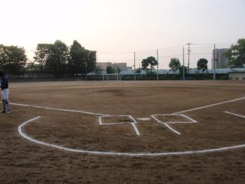P6140003白川中学校グラウンド